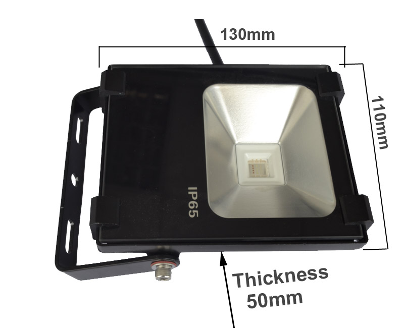 10W 2.4G Mi.Light Group dimmable RGB LED Floodlight