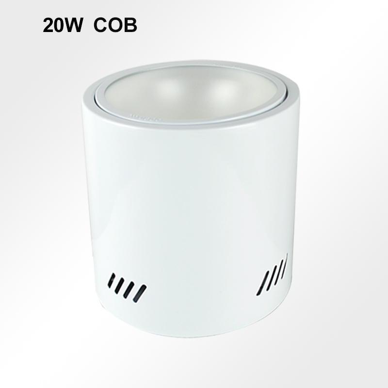 20W COB Surface Mounted led Downlight light 85~265V
